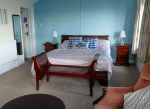 crab and lobster inn bembridge bedroom
