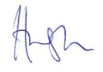 hugh signature