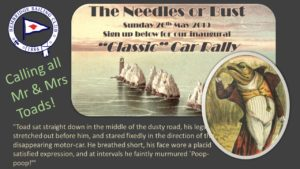 Classic Car Rally Poster